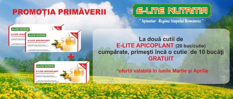 Promotie E-LITE APICOPLANT
