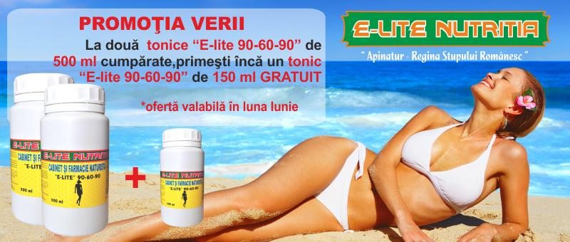 Promotie la tonic E-LITE 90-60-90