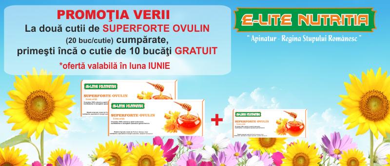 Promotie la Supeforte Ovulin