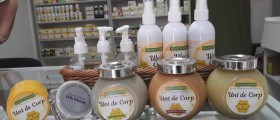 Standul de produse cosmeti...